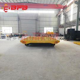 湖北65吨自动化PLC平车, 滚轮轨道小车材料计算
