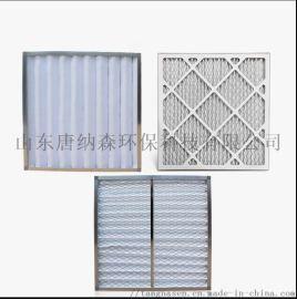 无纺布初效板式空气过滤器 样式为板式折叠式袋式