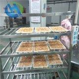 性能稳定腌制鸡柳条上糠机 全自动鸡柳条过看机可试机