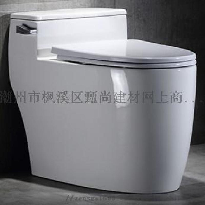 广东潮州马桶连体坐便器坐厕座厕OEM贴牌生产厂家