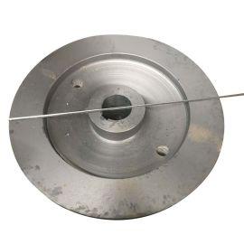铸造轴盘 孔50*100 316L铸造不锈钢轴盘