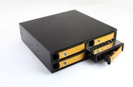 TOOLFREE2.5寸光驱位4盘位硬盘盒 兼容SATA/SAS硬盘