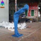 企業形象雕塑_商店商場酒店門口迎賓公仔玻璃鋼雕塑_人物雕塑