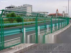 太原框架护栏网-高速绿色框架防护网厂家冀发专业安装