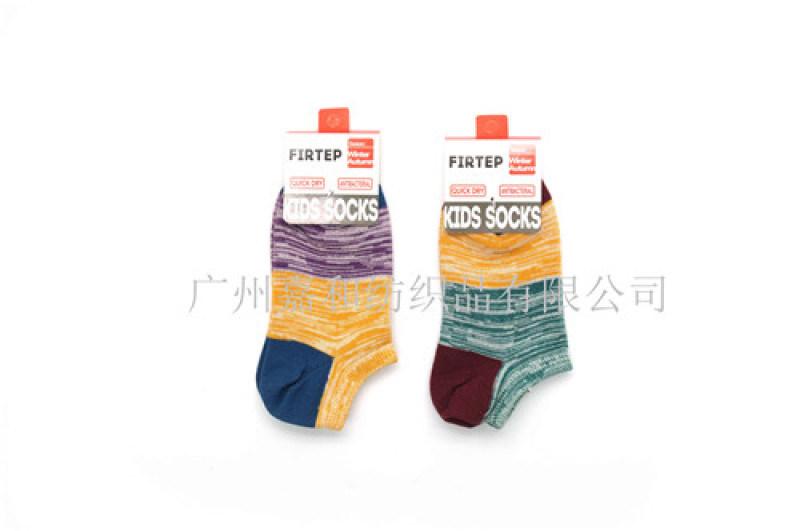 田园风格童装棉袜 花纱款儿童船袜 广州儿童袜子厂家