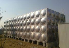 房顶水箱 玻璃钢生活水箱 不锈钢暗装水箱容积