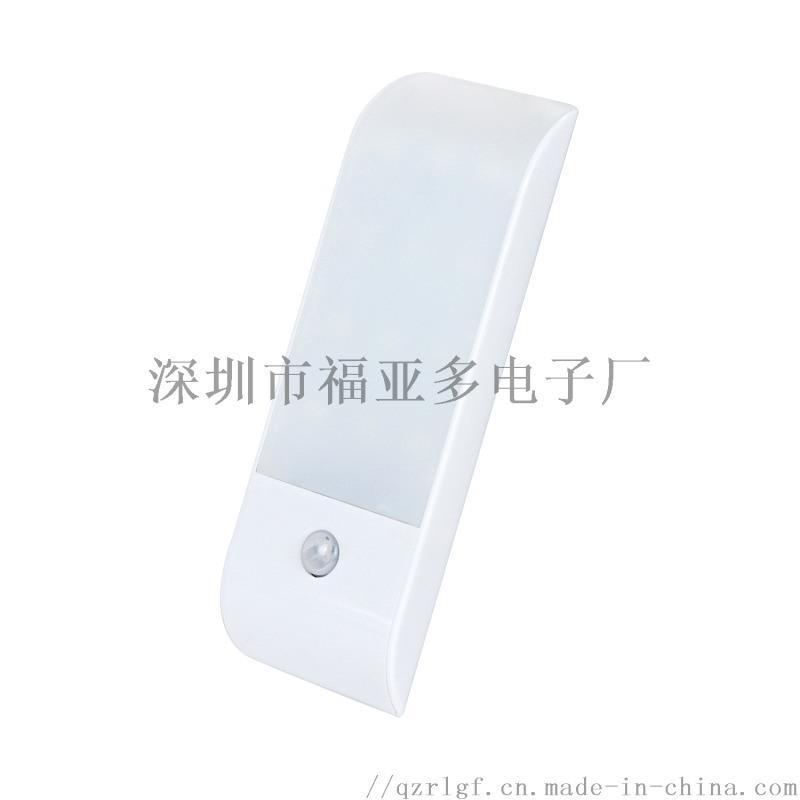 厂家直销**ebay新款LED红外感应灯人体感应小夜灯橱柜灯