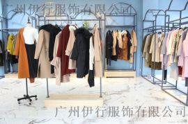 上海七浦路走份璞秀女装专柜库存 璞秀品牌折扣直播冬装货源