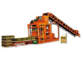 全自动砌块砖机(QTJ4-25)