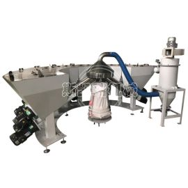 高精度小料配方机全自动pvc辅料配料机