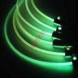1.5mm直徑實芯照明通體光纖側光光纖塑料光纖整條發亮導光纖線