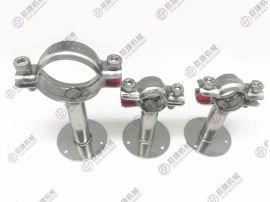 厂家直销 不锈钢管支架 带盘管支架 圆盘管支架 不锈钢管夹