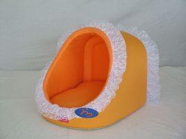 可爱宠物窝(H9-27橙色贝壳)