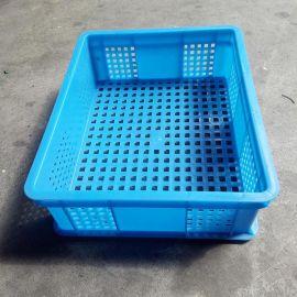 塑料周转筐,塑料筐、蓝色塑料周转筐