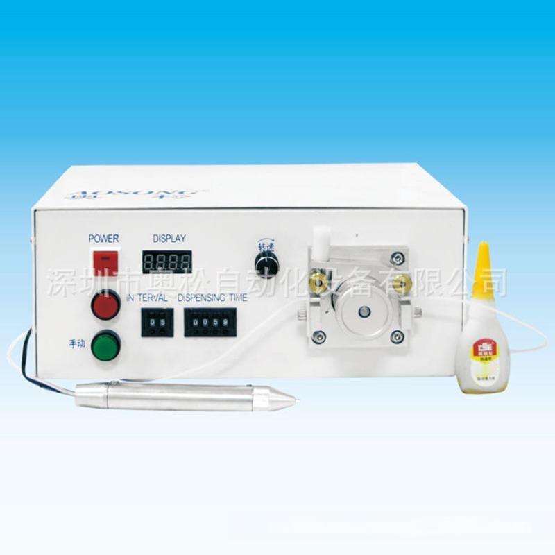 半自动点胶机系列 蠕动式点胶机 502胶水机 专用快干胶机