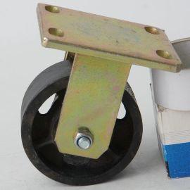 5寸重型定向脚轮@铸铁货物搬运定向轮静音耐磨轮子