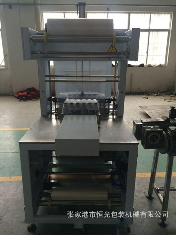 瓶裝飲料包裝機 高端大氣的熱收縮包裝機械  蘇州包裝機廠家生產