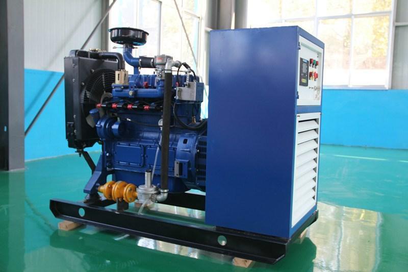 20KW天然气沼气发电机组家庭个人工厂单位废气再利用气体发电机
