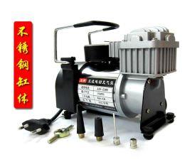 220V家用交流电动充气泵轮胎打气泵金属打气机篮球气球汽车充气泵