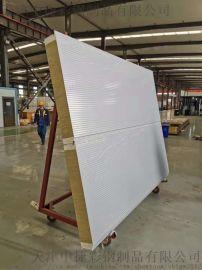 容重120公斤岩棉彩钢复合板