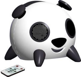 可爱卡通触摸小猪猪音响2.1有源音箱电脑 **重低音炮 插卡U盘遥控