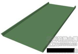 洛阳矮立边铝镁锰钛锌板屋面墙面板
