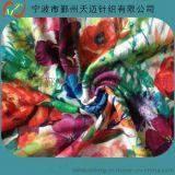 亚麻数码印花布 针织亚麻混纺布