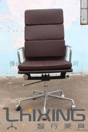 铝合金框**EAMES系列软包办公转椅 促销办公家具