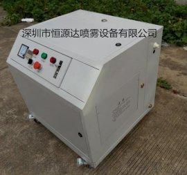 恒源达印刷车间喷雾加湿设备|如何解决工业车间干燥问题