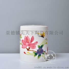 私人定制1斤陶瓷罐子 陶艺罐 茶叶罐 食品包装罐