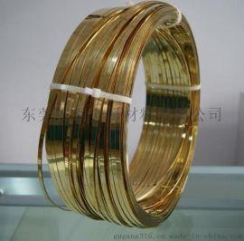深圳H65黄铜扁线压延厂家,东莞0.5*2.0MM扁铜线报价