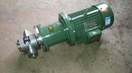 CQCB磁力式齿轮泵、不锈钢磁力泵、无泄漏齿轮泵