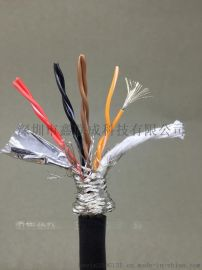 柔性耐油拖链电缆TRVV 8芯*0.5平方 国标铜芯耐弯折800万次以上