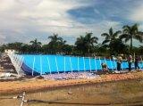 大型水池一移动式支架水池