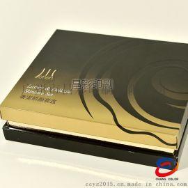 广州厂家定制精品包装单双铜金银卡纸质胶印凹凸uv印礼品盒