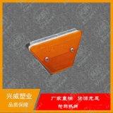 廠家供應矩形輪廓標高速護欄反光標標雙支單面長方形輪廓標