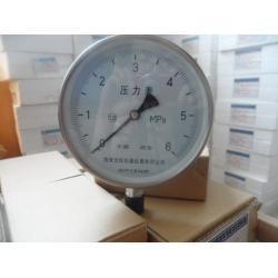 不锈钢压力表/带边耐震不锈钢压力表/全不锈钢压力表/不锈钢压力表针型阀/不锈钢防震压力表