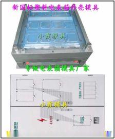 浙江模具制造 标准新国网单相六位电表箱注塑模具特价出售