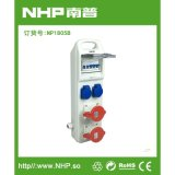 NHP南普 供应移动式防水配电箱 NP1805B PC工程塑料插座箱