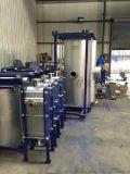 河南省信陽市浉河區耐高溫高壓全焊接板式換熱器廠家直銷、波紋板式換熱器、寬流道板式換熱器