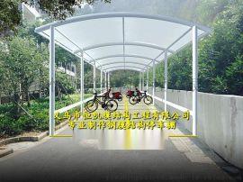 潍坊汽车停车棚制作图片、诸城钢结构停车棚