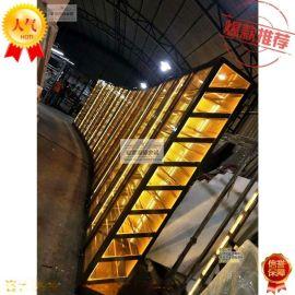 廠家高端定制別墅創意展示架 不鏽鋼恆溫酒櫃 酒店常溫酒架