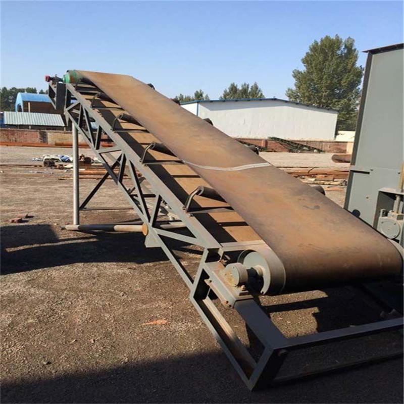 裙边格挡带式输送机 散料用槽型输送机厂家qc
