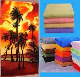 割絨印花浴巾,天鵝絨浴巾,全棉浴巾