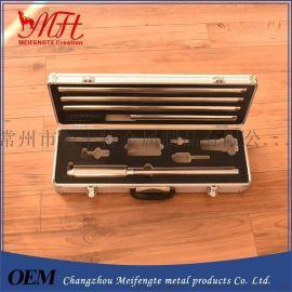 厂家供应铝合金金属箱、防水防爆防震工具箱 各种教学仪器箱铝箱