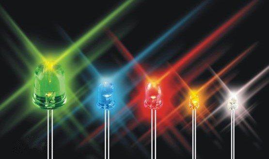 5MM七彩快閃 LED發光二極管