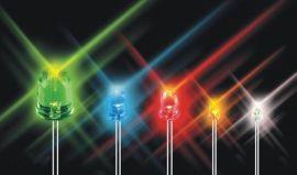 5MM七彩快闪 LED发光二极管