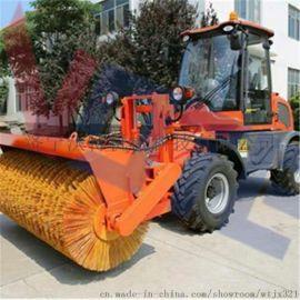 湖南路面除雪机新品 柴油小型座驾扫雪机操作简便