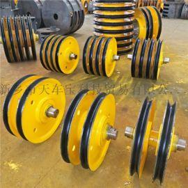 滑车滑轮组 双梁行车滑轮组 滑轮片 32吨滑轮组