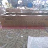 不鏽鋼現化中式花盆定製加工不鏽鋼鏤空花箱廠家